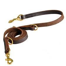 german shepherd leather dog leash 3 4 inch on 7 foot