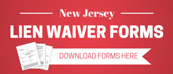 Free Subcontractor Lien Waiver Form New Jersey Lien Waiver Faqs And Resources