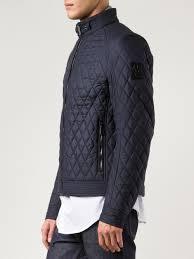 Lyst - Belstaff Quilted Jacket in Blue for Men & Gallery Adamdwight.com