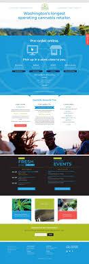 Website Design Seattle Wa Dockside Cannabis Website Craig Labenz Design