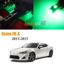 Scion Frs Led Lights Details About Full Green Led Lights Upgrade Interior Package For 2013 2015 Scion Fr S