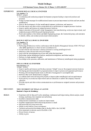 Metallurgical Engineer Sample Resume Metallurgical Engineer Resume Samples Velvet Jobs 5