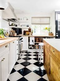 Elegant 6 Flooring Options Worth A Second Look. Tiles For KitchenWhite Kitchen FlooringCheckered  Floor KitchenBlack ...