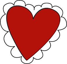 Image result for heart valentine clip art