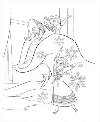 Coloring pages of frozen 2 for free printing. Free 14 Frozen Coloring Pages In Ai Pdf