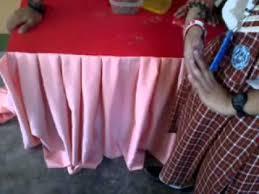 basic table skirting