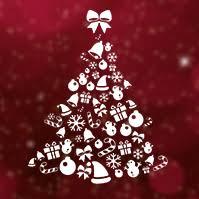 Christmas Ecard Templates Tree Prezibase
