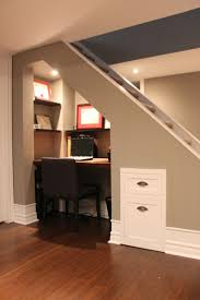 Stair Exciting Basement Stair Ideas For Beautifying The Often - Painted basement ceiling ideas