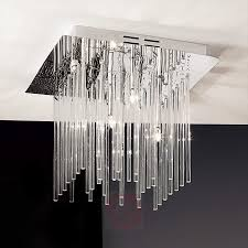 future ceiling light with glass rods sparkling 7253015 01