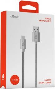 <b>uBear Force</b> USB-<b>Type</b>-<b>C</b> 1м металлическая оплетка Silver - цена ...