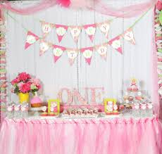 first birthday decoration ideas at home for girl unique home decor