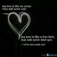 My Love Is Like A Free Bi Quotes Writings By Mansi Shivhare