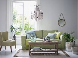 sage green home colour trend living room