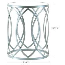 silver side table round silver side table silver side table small interior picture source silver metal round side table