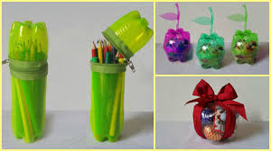 10 plastic bottle pencil holder and for keeping other stuff