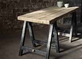 office kitchen table. lomwe trestle table black furinsh your home office kitchen or dining room with this elegant table n