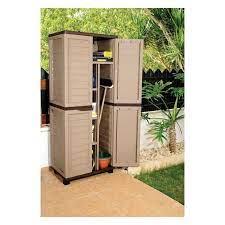 starplast garden storage cabinet with