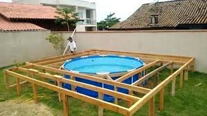 square above ground pool. Above Ground Pool Ideas Backyard Pools With Decks Around Them Deck Designs Free Cost Per Square .