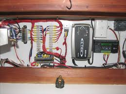 another electrical question sailing forums, page 1 Basic Boat Wiring Bus 12v negative bus bar is in the view of the rear of the switch area, electrics ruin your day if they are not connected right good luck with your endeavours Basic 12 Volt Boat Wiring