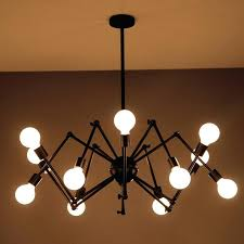 chandelier pendant lighting loft modern suspension spider pendant lights with 6 8 heads loft industrial vintage