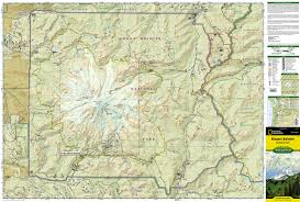 mount rainier national park (national geographic trails