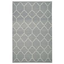 serpentine rug in pale grey