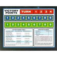 Victory Point Record Chart Card From Warhammer 40 000 2nd