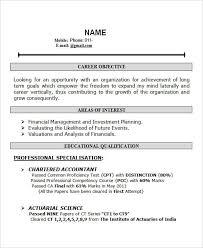 Resume For Freshers Bcom Resume Corner