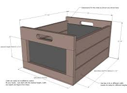 wooden crate dimensions modern ana white chalkboard produce diy projects throughout 3