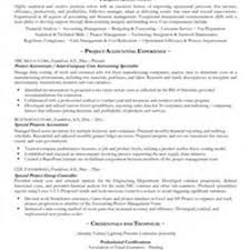 Project Accountant Resume Example Construction Project Accountant Resume Pic Project Accounting Resume 1