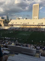 Bobby Dodd Stadium Section 104 Row 45 Seat 21 Georgia