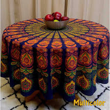 72 inch round dining table cloth