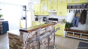 diy rolling kitchen island custom rolling kitchen island with butcher block top and a place home
