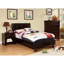 modern twin bed frame.  Modern Furniture Of America Kutty Modern Twin Size Padded Leatherette Platform Bed Intended Frame D