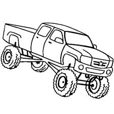 coloring page Monster Truck Higher Education School Bus Coloring Page unique Coloring Pages Draw A Monster Truck truck coloring pages 4 truck coloring pages 5 truck coloring pages on jacked up truck coloring pages