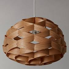 Cool Wooden Ceiling Lights John Lewis Alvin Easy To Fit Wood Veneer Ceiling  Light Wood
