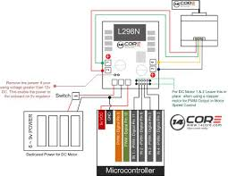 using l298n h bridge stepper motors on arduino 14core com l298n driving stepper motor diagram pin out