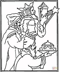 Small Picture Gifts from Kings coloring page Free Printable Coloring Pages