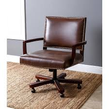 leather office. abbyson toronto brown leather office chair