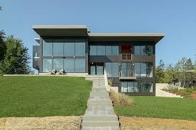 modern home architecture. Collect This Idea Exterior Edgewater-residence-rosenow Modern Home Architecture R