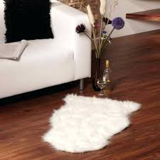 faux fur white rug small sheepskin rug household faux fur white with regard to faux faux fur white rug