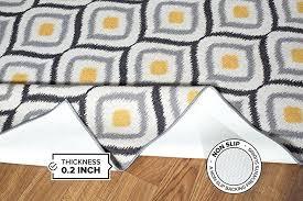 non slip area rugs modern design non slip non skid area rug 5 x 7 non skid kitchen area rugs