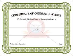 Congratulations Certificates Templates Congratulation Certificates Certificate Templates