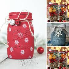 Decorate A Jar For Christmas 100 Festively Fun Christmas Mason Jar Crafts for the Holidays 28