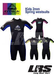 Details About New Adrenalin Kids Springsuit Wetsuit Short