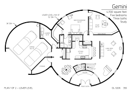 gallery floor plan dl 5206 monolithic dome homes pinterest Earth House Design Plans explore home floor plans, home plans, and more! earth home design plans or pictures