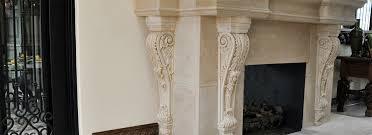 Fireplace MantelsLimestone Fireplace Mantels