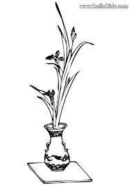 Small Picture Vase with flowers coloring pages Hellokidscom