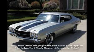 All Chevy all chevy muscle cars : 1970 Chevy Chevelle SS Clone Classic Muscle Car for Sale in MI ...