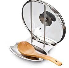 Buy <b>1PCS</b> stainless steel <b>pot</b> lid <b>shelf</b> kitchen organizer pan cover lid ...